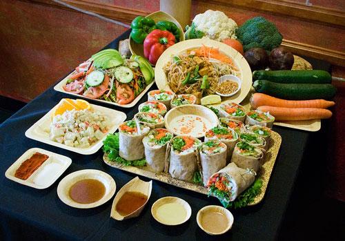 vegan party snack food
